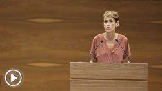María Chivite, nueva presidenta del PSN en Navarra.