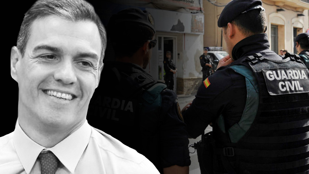Guardias civiles de élite para blindar las vacaciones de Sánchez.