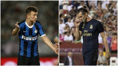 Ivan Perisic y Gareth Bale.