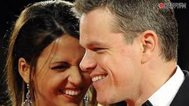 Matt Damon y el tierno gesto con su familia que no ha pasado desapercibido