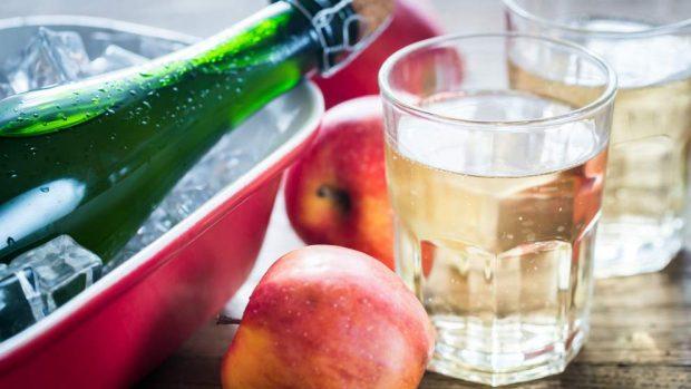 Salsa dulce de sidra con manzana