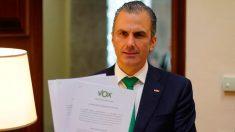 El secretario general de Vox, Javier Ortega Smith. Foto: EP