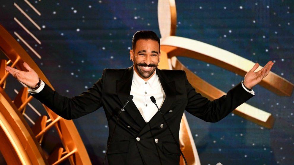 Adil Rami, en una gala. (AFP)