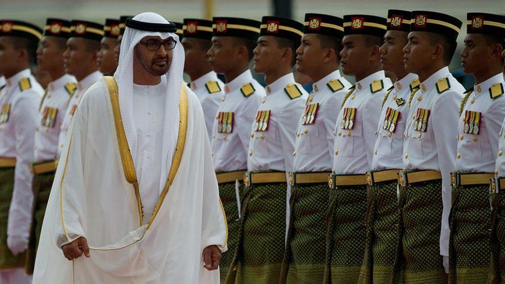 Mohamed bin Zayed al-Nahyan @Getty