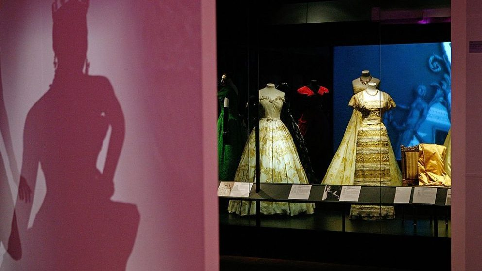 Exposición de Dior en Londres @Getty