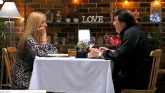 Julia en su cita con Antonio en 'First Dates'