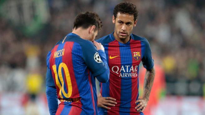 Messi intenta disuadir a Neymar de fichar por el Madrid