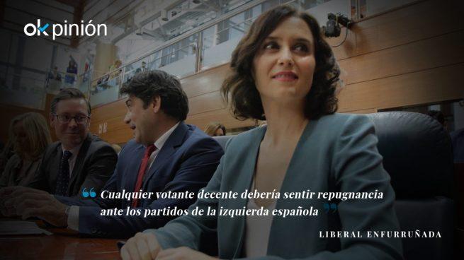 La extrema izquierda rabia con Isabel Díaz Ayuso