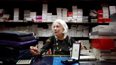 Dolores Agra, Loli, la mujer que más horas ha cotizado en España @EFE