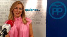 La vicesecretaria general de Organización y presidenta del PP de Navarra, Ana Beltrán. Foto: EP