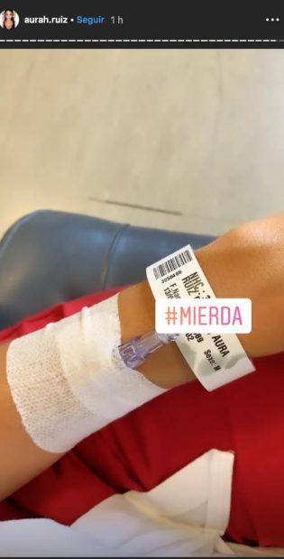 Aurah Ruiz, ingresada de urgencia en el hospital: Preocupa a sus seguidores