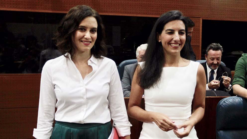 Isabel Díaz Ayuso y Rocío Monasterio