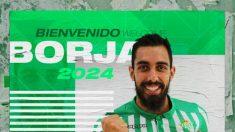 Borja Iglesias, nuevo fichaje del Betis (Real Betis)