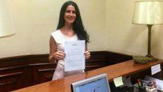 Carla Toscano (Vox). Foto: Europa Press