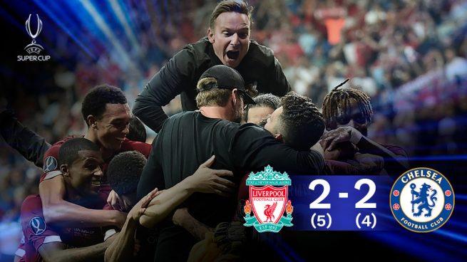San Miguel bendice al Liverpool