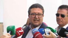 Francisco Serrano, ex presidente del Grupo Parlamentario de Vox en el parlamento andaluz. (Ep)