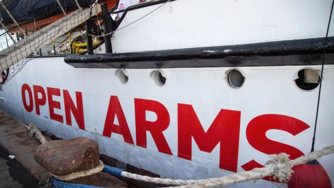 Imagen del Open Arms.
