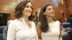 Isabel Díaz Ayuso y Rocío Monasterio. (Ep)