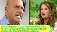 Kiko Matamoros contra Laura Fa en 'Sálvame'