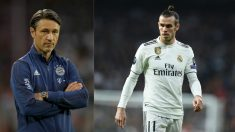 Niko Kovac y Gareth Bale.