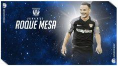 Roque Mesa, nuevo fichaje del Leganés (Club Deportivo Leganés)