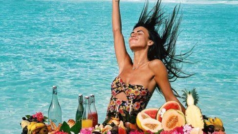 Sofía Suescun disfruta en Las Maldivas
