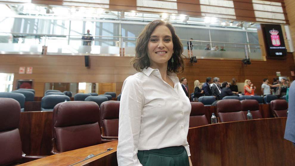 Isabel Díaz Ayuso. (Foto: Francisco Toledo / OKDIARIO).