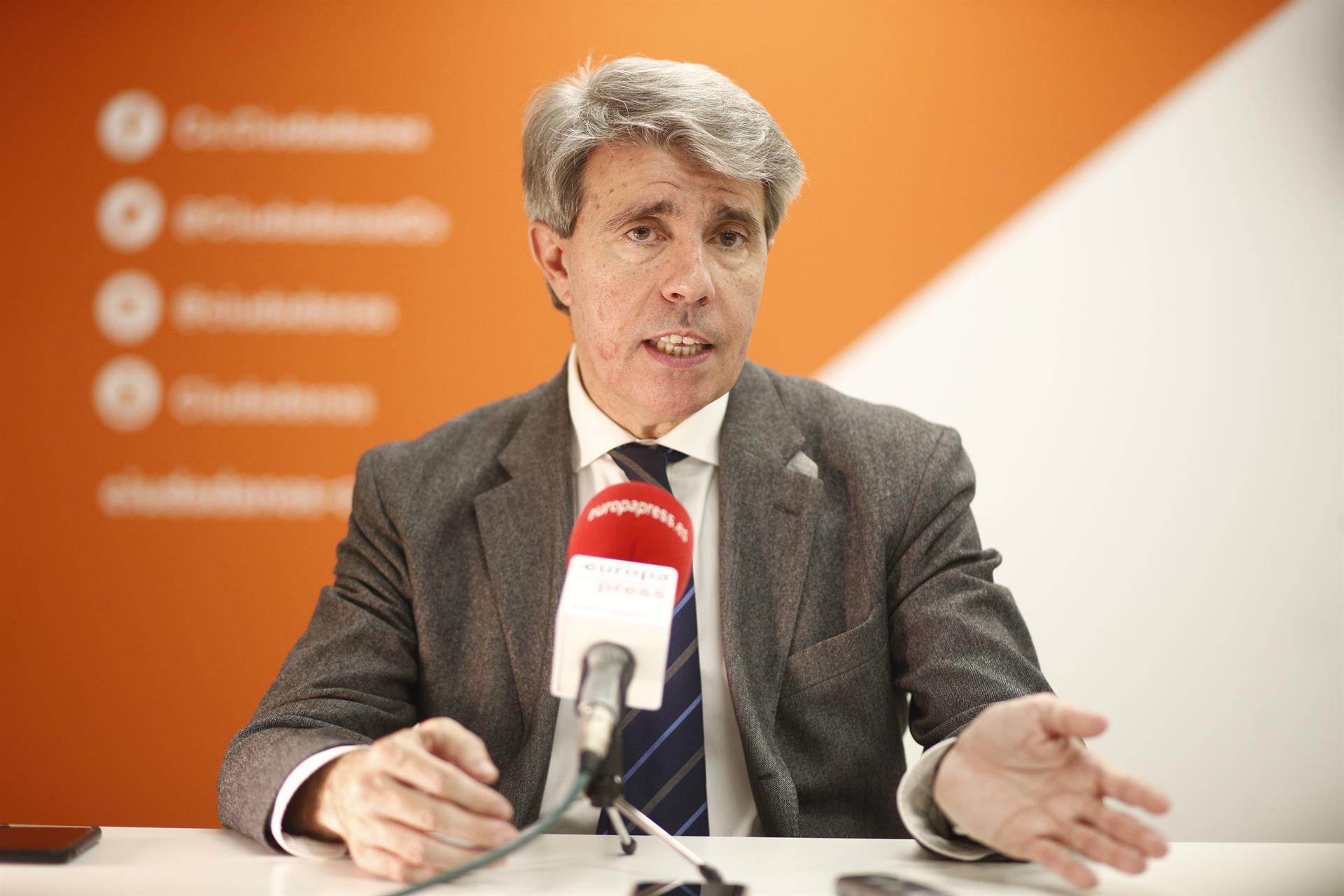 Ángel Garrido, ex dirigente del PP y actual diputado de Ciudadanos @EP