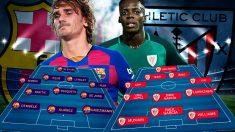 San Mamés acogerá la apertura de la Liga 2019-20.