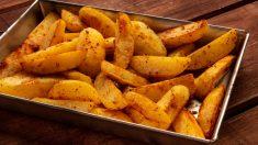 Receta de Patatas cajún al microondas