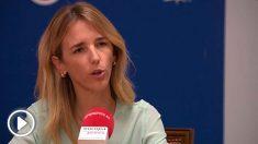 La portavoz del Grupo Popular en el Congreso, Cayetana Álvarez de Toledo. Foto: EP