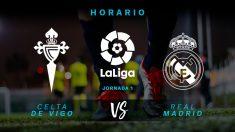 Celta – Real Madrid: partido de la jornada 1 de La Liga Santander.
