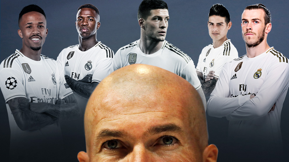 Zidane tendrá que resolver un rompecabezas.