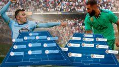 Celta y Real Madrid juegan esta tarde en Balaídos.