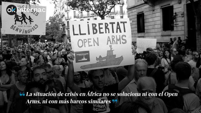 El Open Arms y la izquierda política