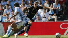 Bale, en el encuentro frente al Celta. (EFE)