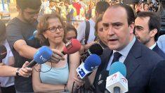 Daniel Serrano, secretario general del PP catalán. (Ep)