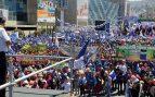 Evo Morales en un acto electoral en La Paz @EP
