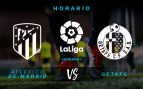 Horario Atlético Getafe