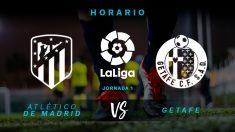 Atlético de Madrid – Getafe: horario y dónde ver el partido de la Liga Santander.