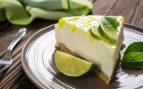 Tarta de queso con lima