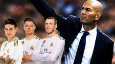 Zidane debe elegir dos descartes.