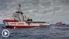 El buque humanitario Open Arms. Foto: Europa Press