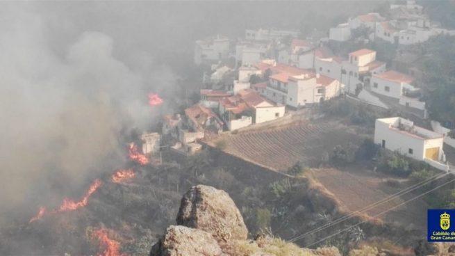 Incendio en Gran Canaria @Cabildo