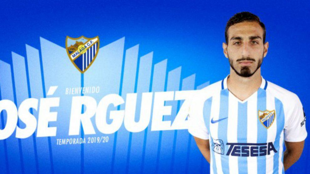 José Rodríguez, nuevo fichaje del Málaga (Málaga Club de Fútbol)