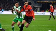 Mehdi Zeffane en un partido contra el Betis (AFP)
