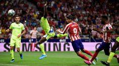Morata remata a gol. (AFP)