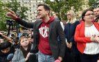 Nueva detención al opositor ruso Ilya Yashin nada más abandonar la prisión en la que ha estado retenido diez días @EP
