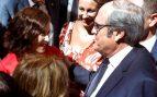 Ángel Gabilondo e Isabel Díaz Ayuso en la Puerta del Sol. @EFE