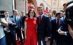 Isabel Díaz Ayuso con Pablo Casado en la toma de posesión @EFE
